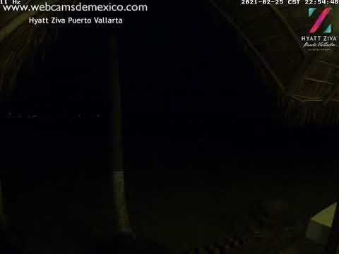 Puerto Vallarta, Jalisco en vivo visto desde Hyatt Ziva Puerto Vallarta