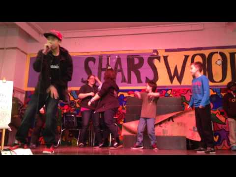 Jalen Hoang performs PSSA at Sharswood Elementary