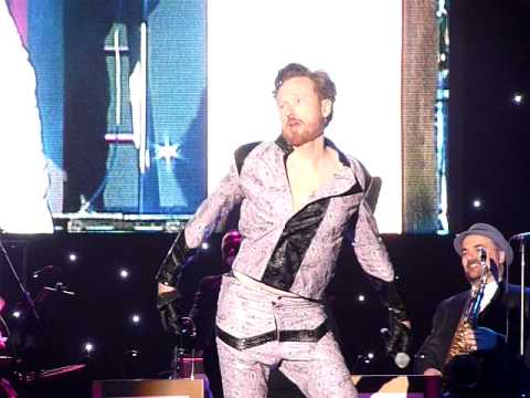 Conan O'Brien in Eddie Murphy's Pink Leather - 'Legally Prohibited' Tour