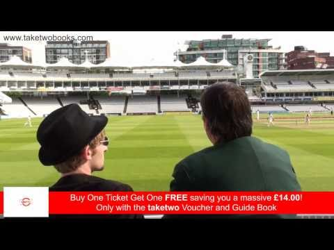Lord's Tour, 2 for 1 London - Buy One Ticket Get One FREE!