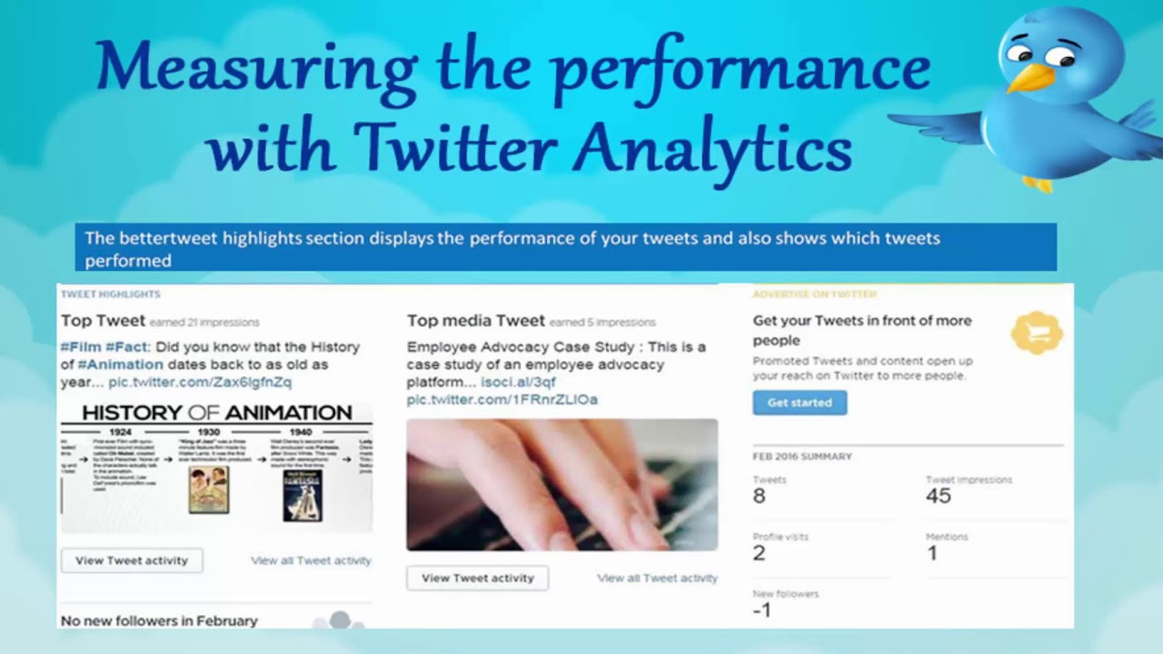 How to measure the performance with Twitter Analytics | Social Media Marketing | Online SMM Course |
