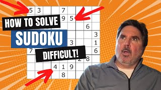 How To Solve Sudoku PART 4 - DIFFICULT LEVEL PUZZLES