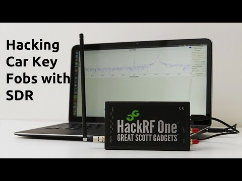 Hacking Car Key Fobs With SDR