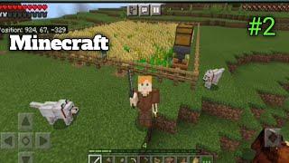 I Start Farming F๐r My Modern House | Minecraft Gameplay #2