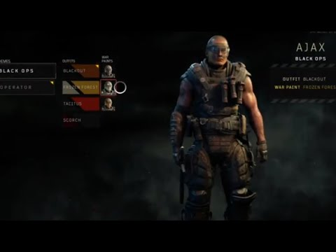 Call Of Duty Black Ops 4 How To Customize Your Character Youtube