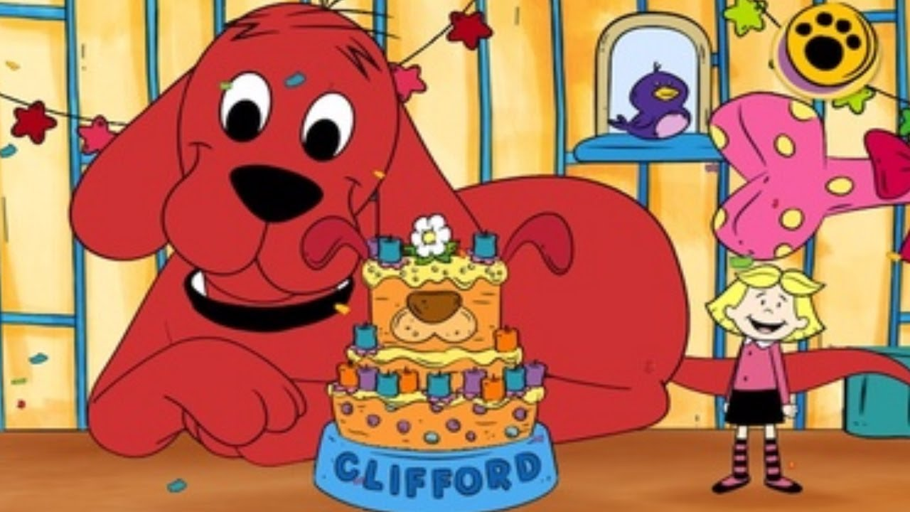 Cliffords Birthday Cake