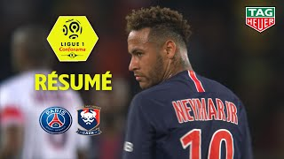 Paris Saint-Germain - SM Caen ( 3-0 ) - Résumé - (PARIS - SMC) / 2018-19