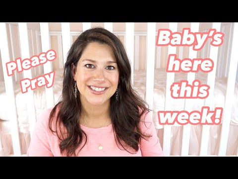 BABY IS HERE THIS WEEK! C-section date, baby prep spiritually and physically what I do.