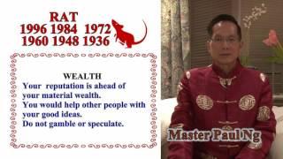 Master Paul Ng 2017 Chinese Zodiac Predictions- Rat