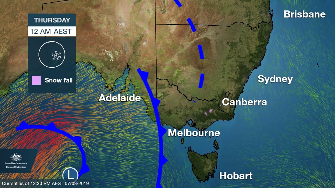 Cold and severe weather forecast to hit New South Wales