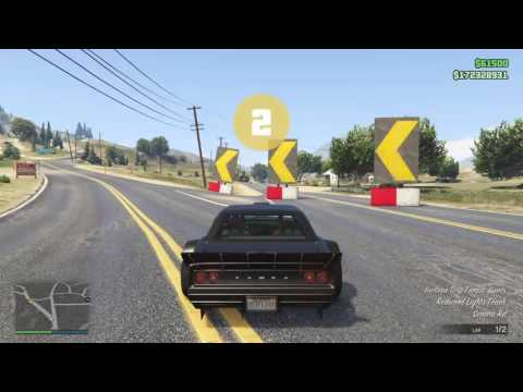 Testing my new GTA Rally Race