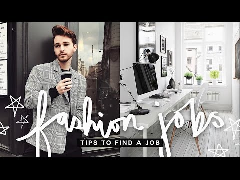 LIFE HACKS + TIPS: How To Land a Job in Fashion + MAKE MONEY!