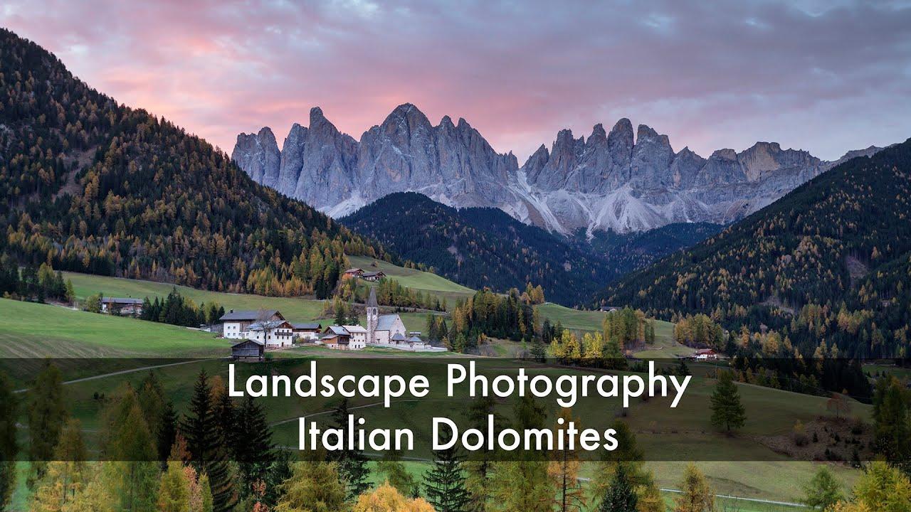 Landscape Photography - Italian Dolomites - YouTube