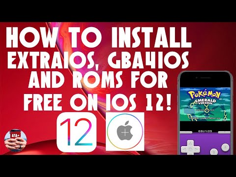 DOWNLOAD AND INSTALL GBA4IOS EMULATOR ON IOS 12!