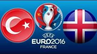 Türkiye İzlanda Maç Özeti / Geniş Özet / 13.10.2015 / uefa 2016