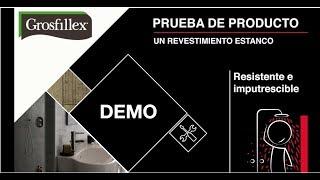 Prueba de producto Grosfillex - revestimiento de paredes
