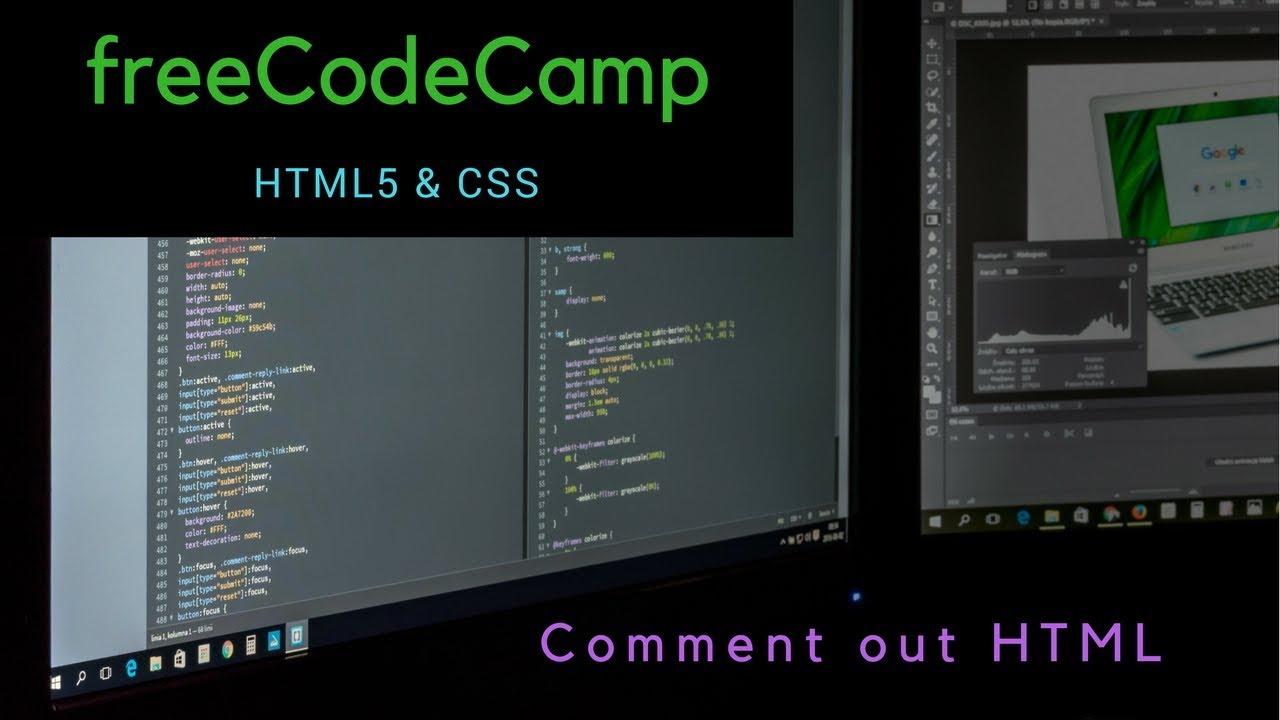 Comment out html freecodecamp review html css lesson 5