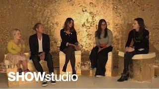 Alexander McQueen Womenswear - Spring / Summer 2015 Panel Disc…