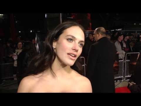 Jessica Brown Findlay   A New York Winter's Tale Premiere
