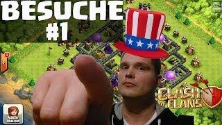 Clash of Clans || XXL Besuche #1 || Let's Play Clash of Clans [Deutsch/German HD]
