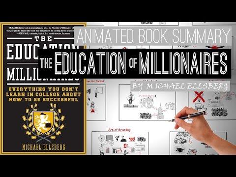 7 top skills of self made millionaires | The Education of Millionaires by Michael Ellsberg |