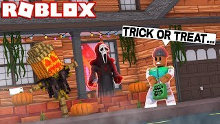 TRICK OR TREAT IN ROBLOX