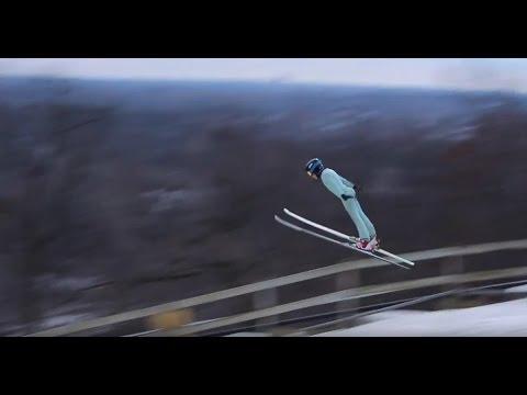 Ski Jumping Siblings, Casey & Cara Larson Compete in International Championships
