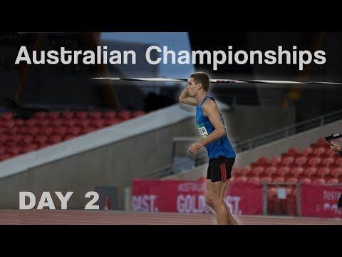 NATIONAL CHAMPIONSHIPS DECATHLON! | DAY 2