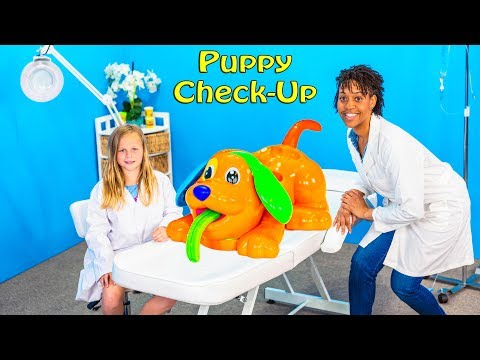 PAW PATROL Nickelodeon Puppy Play Doh Check Up Assistant Play Doh Doctor Video