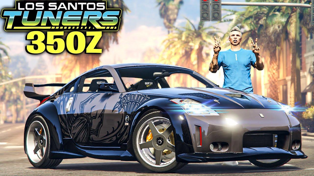 NOVO 350z DO VELOZES E FURIOSOS DLC *Los Santos Tuners* - GTA 5 Online