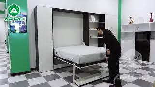 видео Детская кровать-чердак Квартет 2