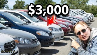 If You Only Have $3,000, These are the Cheap Cars You Should Buy