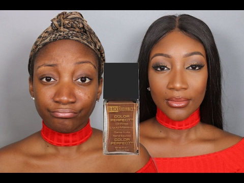 BLACK RADIANCE OIL FREE FOUNDATION  | First Impressions, Demo & Review + GIVEAWAY!