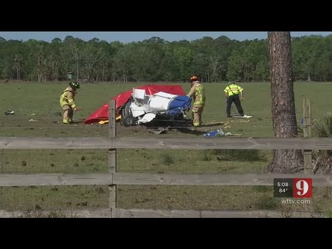 Video: Embry-Riddle Aeronautical student, FAA examiner die in Volusia County plane crash