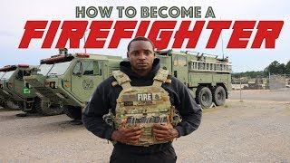 #fitness #army #firefighter How To Become A Full Time FIREFIGHTER!!!!