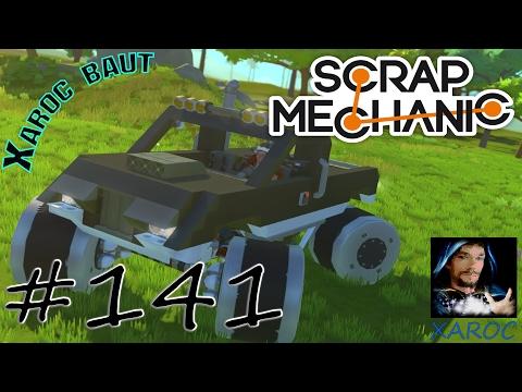 "Scrap Mechanic ""Xaroc baut: Monster Truck Big Foot [Teil 2]"" #141 🐶 DEUTSCH"