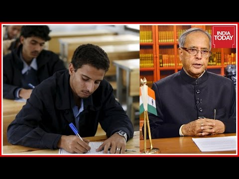 Pranab Mukherjee Signs Ordinance Passed By Cabinet To Delay NEET