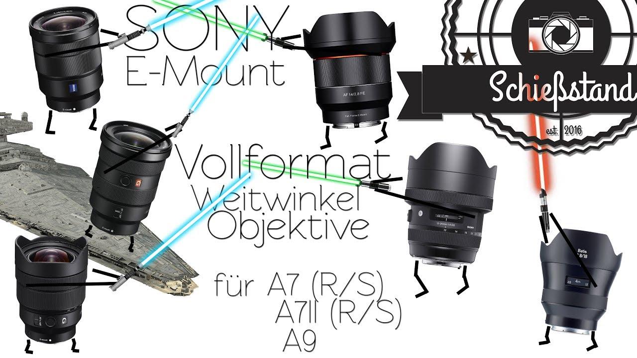 📷 Die besten Autofokus Weitwinkel-Objektive für Sony FE-Mount ...