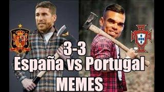 MEMES DE PORTUGAL VS ESPAÑA RUSIA 2018 GOLES RESUMEN