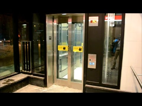 NEW ELEVATORS AT ROSEMONT METRO STATION IN MONTREAL QC