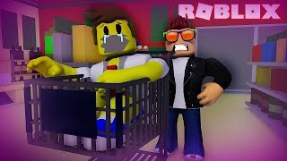 ESCAPE FROM THE HAUNTED MARKET IN ROBLOX