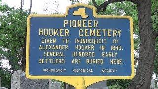 The Historic Hooker Pioneer Cemetery - Irondequoit, New York