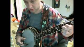 How to play Gravity Rides Everything on banjo - Modest Mouse (Iron Horse version) - Stafaband