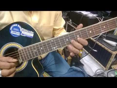 Ek Ladki Bheegi Bhagi Si Full Guitar Tab+Chords Lesson.