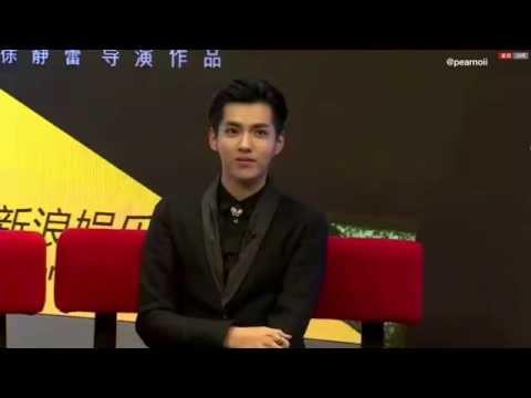 141105 Sina Star Live Chat WuYiFan & Xu Jinglei Somewhere Only We Know