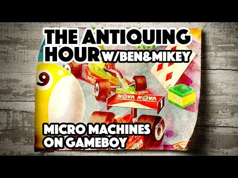 Micro Machines (1995) - The Antiquing Hour w/ Ben & Mikey