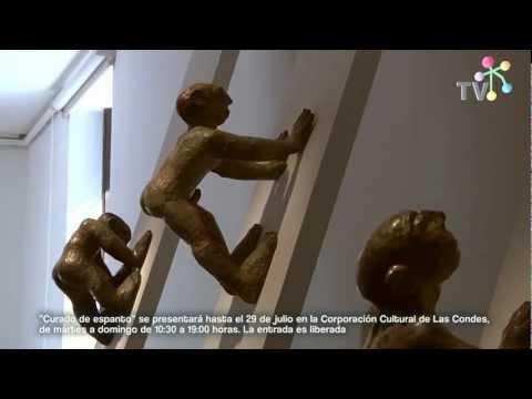 Exposición Curado de Espanto, del artista Fernando Hinostroza se presenta en Las Condes