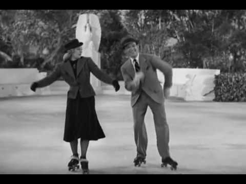 Fred Astaire Ginger Rogers On Rollerskates Youtube