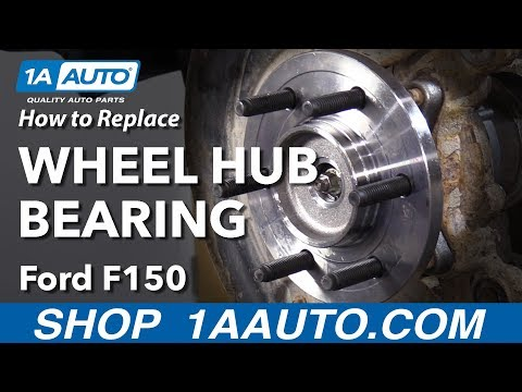 How to Replace Wheel Hub Bearing 11-14 Ford F-150