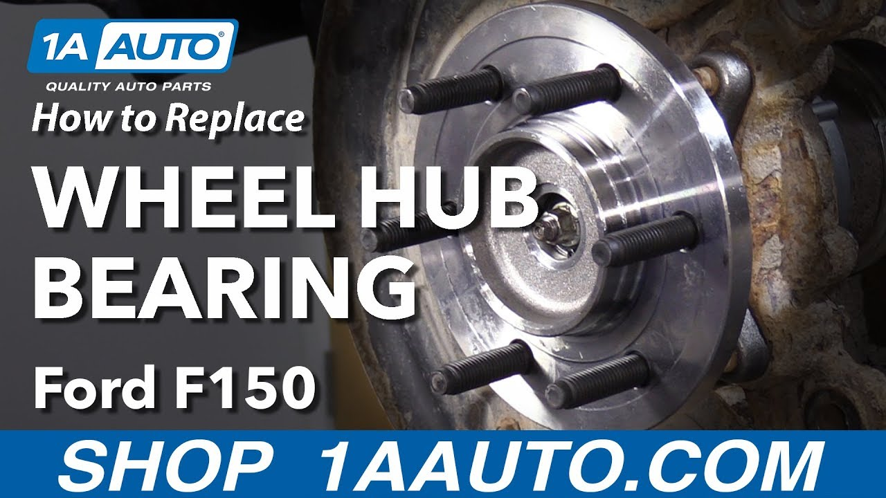 2011 For Ford F-150 FX4 Front Wheel Bearing and Hub Assembly x 1